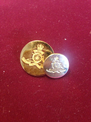 Royal Artillery Buttons