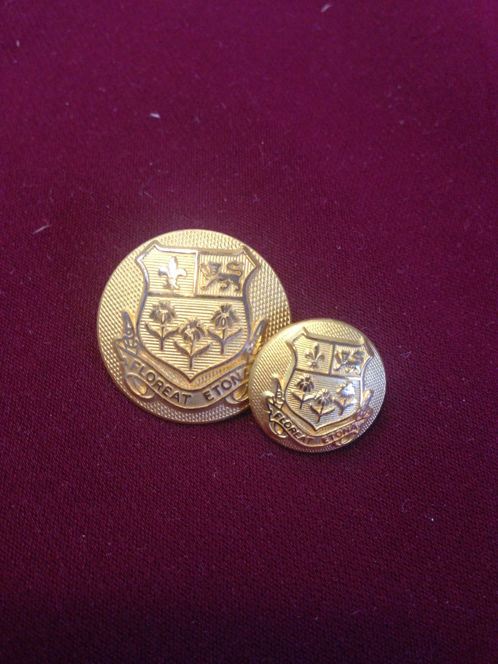 Eton College Buttons