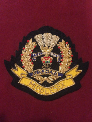 Middlesex Regiment Blazer Badge