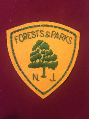 New Jersey Forest and Parks Blazer Badge