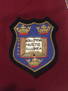 Oxford University Blazer badge
