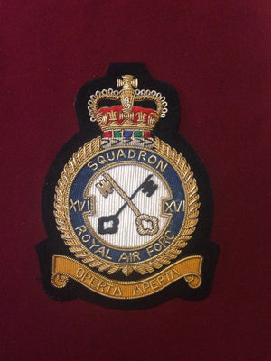 RAF 16th Squadron Blazer Badge