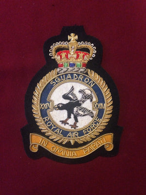 RAF 24th Squadron Blazer badge