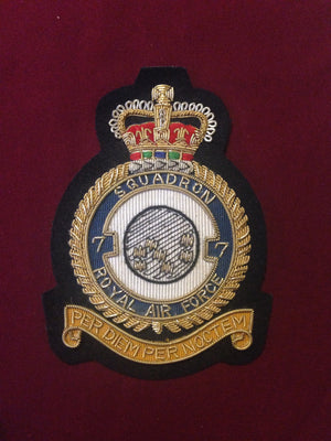 RAF 7th Squadron Blazer Badge