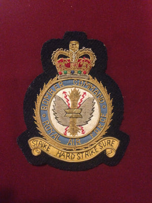 RAF Bomber Command Blazer Badge
