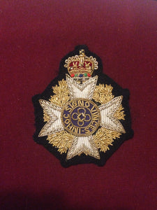 RAF Chaplain Cap Badge