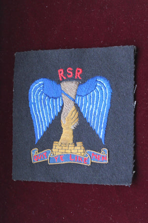 Raiding Support Regiment Blazer Badge
