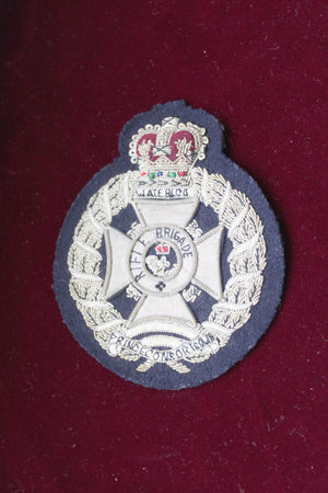 Rifle Brigade Blazer Badge