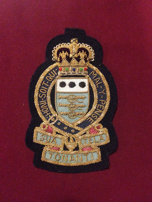 Royal Army Ordinance Corps Blazer badge (Velcro Backed)