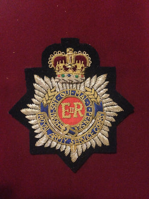 Royal Army Service Corps Blazer Badge