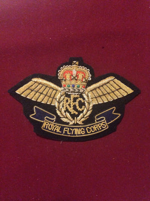 Royal Flying Corps Blazer badge (gold)