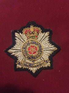 Royal Hampshire Regiment Cap Badge