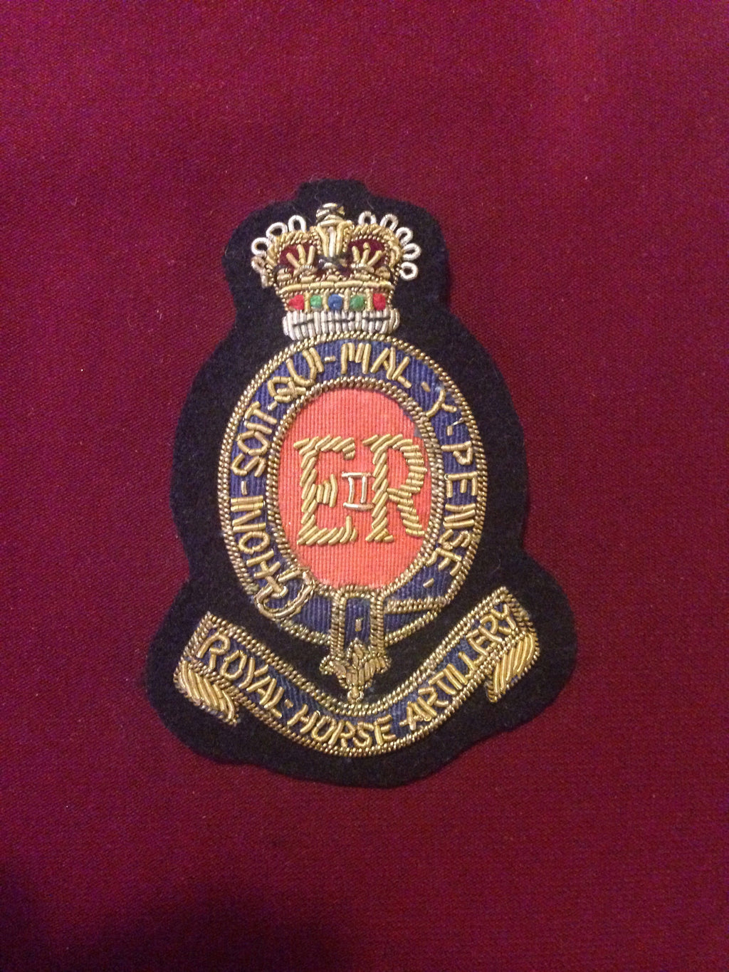 Royal Horse Artilliary Cap Badge