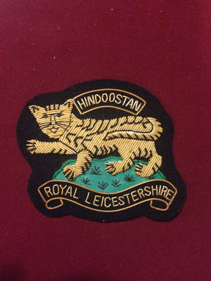 Royal Leicestershire Regiment Blazer Badge