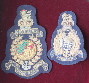 Royal Marines Cap Badge