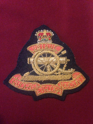 Royal Artilliary Cap badge