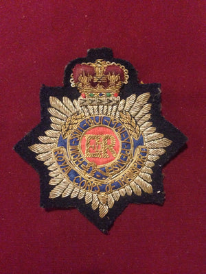 Royal Corps of Transport Blazer badge (vintage)