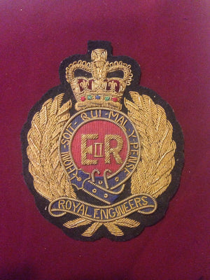 Royal Engineers Blazer Badge (Vintage)