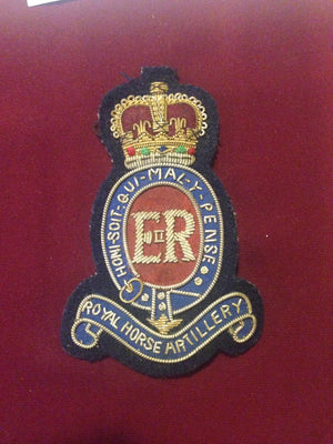 Royal Horse Artilliary Blazer Badge