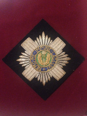 Scots Guards Blazer Badge (square)
