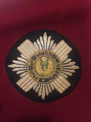 Scots Guards Blazer Badge (round)