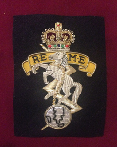 Royal Electrical & Mechanical Engineers Blazer Badge
