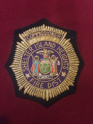 Shelter Island Heights Fire District Blazer Badge