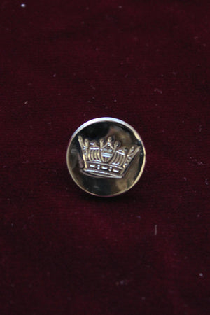 Silver Crown Buttons