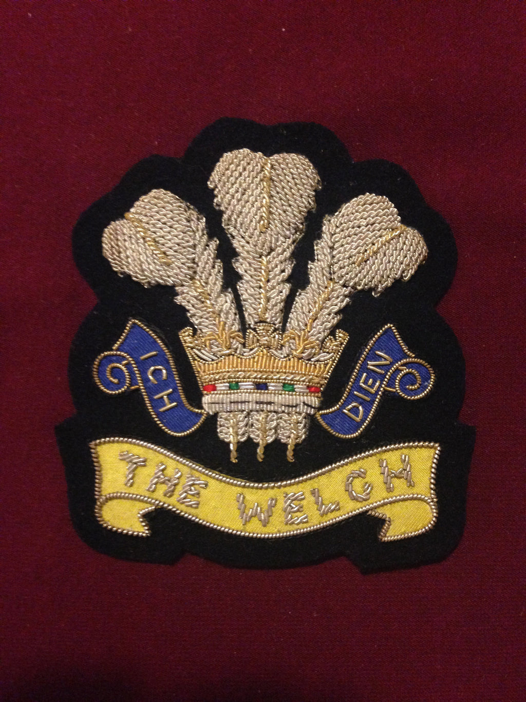 The Welch Regiment Blazer badge
