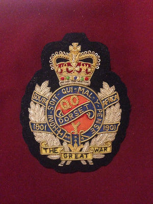 The Dorset Regiment Blazer badge