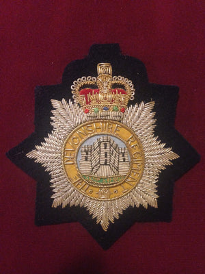 The Devonshire Regiment Blazer Badge