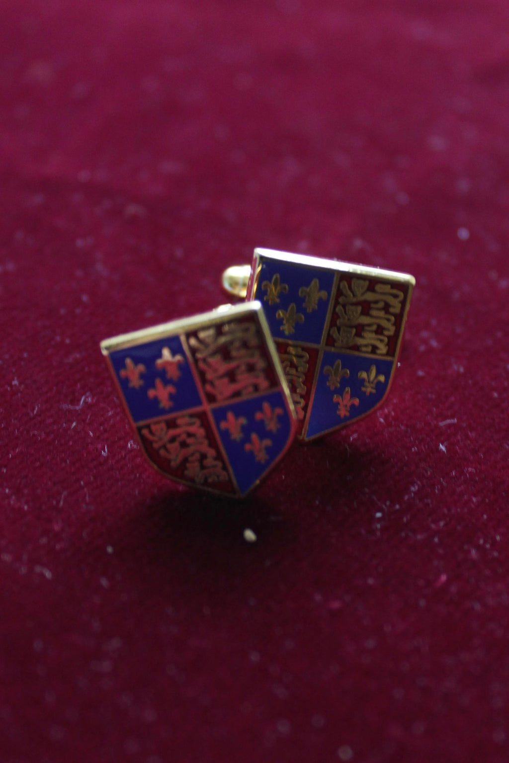 Tudor Royal Coat of Arms Cufflinks
