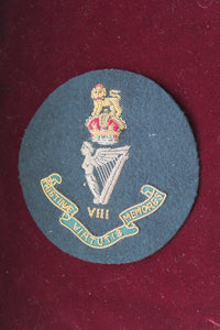 8th Kings Royal Irish Hussars Blazer Badge