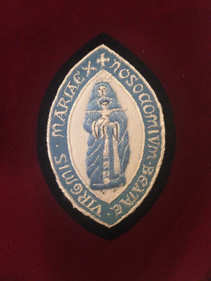 Virgin Mary Blazer Badge