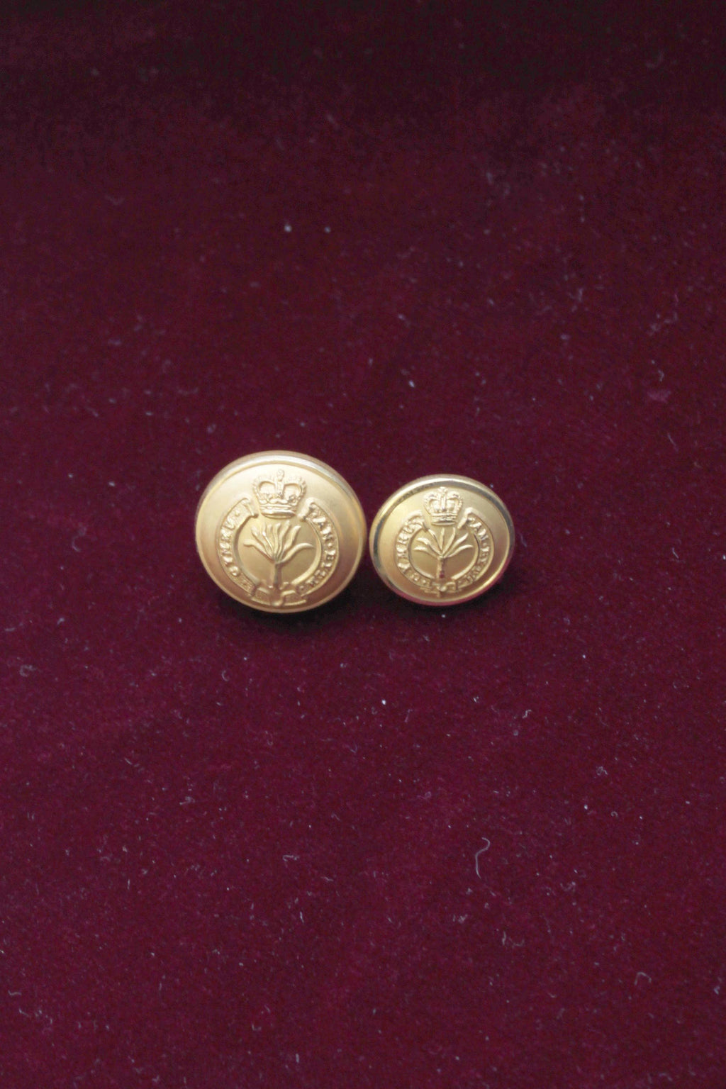 Welsh Guards Buttons