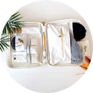The Essential Airplane Travel Kit by Aria on Jetset Times SHOP