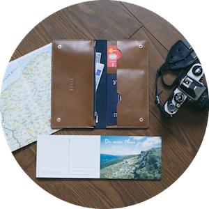 Handcrafted Leather Wallets and Travel Accessories by EEDLE on Jetset Times SHOP