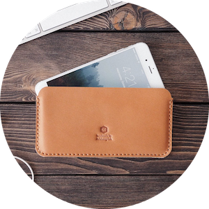 Handcrafted Leather Travel Accessories for Kindle, MacBook, iPhone and iPad by INSIDE on Jetset Times SHOP