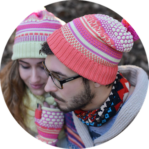 Hand Knit Beanies and Gloves by Iveta Stasiulioniene on Jetset Times SHOP