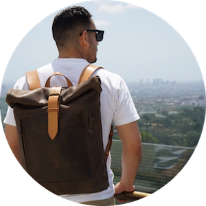 Handcrafted Leather Travel Bags by Kruk Garage on Jetset Times SHOP