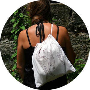 Yoga Mat Bags, Tote Bags and Travel Accessories by KusKatStudio on Jetset Times SHOP