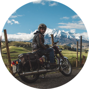 Motorcycle Destination Tours in Argentina and Ecuador by Mono 500 on Jetset Times SHOP