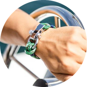 Luxury Sailing Bracelets and Fashion Accessories by Sail Swag on Jetset Times SHOP
