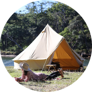 Camping Bell Tents and Outdoor Essentials by The Seek Society on Jetset Times SHOP