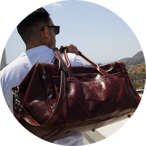 Handcrafted Luxury Leather Traveling Bags by Time Resistance on Jetset Times SHOP