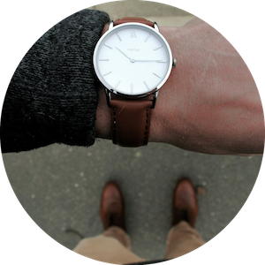Men's Classic Leather Watches by Virtas Watches on Jetset Times SHOP