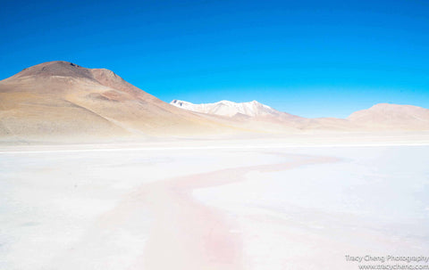 Lagoon in Uyuni - Photography Wall Art Print