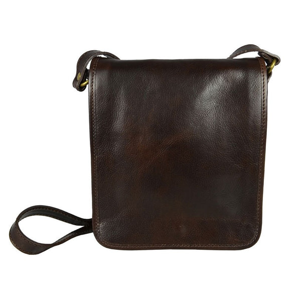 Leather Messenger Bag - On the Road