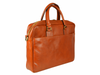 Orange Leather Briefcase Laptop Bag - The Little Prince for Men and Women by Time Resistance on Jetset Times SHOP