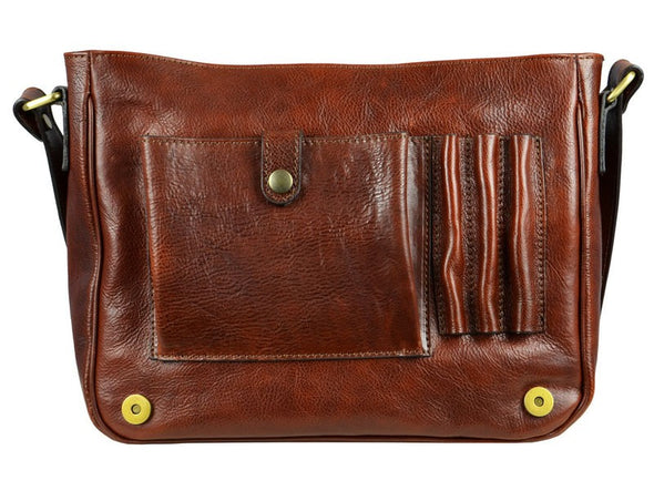 Leather Messenger Bag - The Stranger